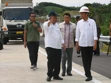 Jokowi Tinjau Proyek Bendungan di Sulawesi Selatan