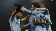 FOTO: Manchester City Tetap Jaga Jarak 12 Angka dari MU