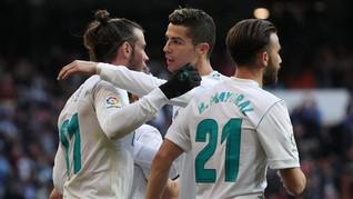 Madrid Hajar La Coruna 7-1, Bale dan Ronaldo Cetak Dua Gol