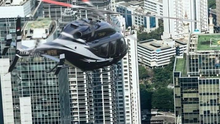 Utilitas helikopter perlu ditingkatkan di antaranya melalui layanan taksi helikopter.