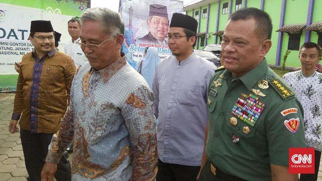 Gerindra Tegaskan Tetap Usung Prabowo, Bukan Gatot Nurmantyo