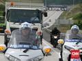 Naik Truk, Jokowi Resmikan Tol Pertama di Lampung
