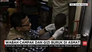 VIDEO: Penderita Campak Asmat Dievakuasi ke RSUD Agats