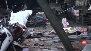 VIDEO: Tiga Tewas Akibat Bom di Pasar Thailand