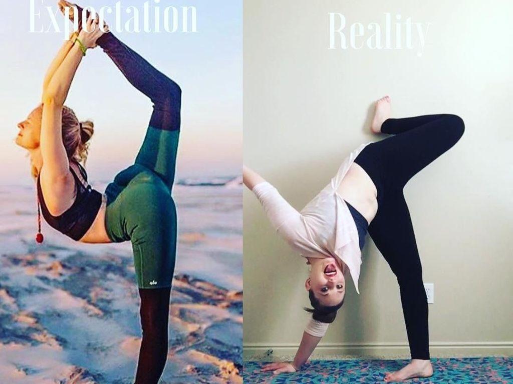 Kumpulan Meme Latihan Yoga yang Failed