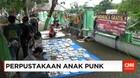Anak-anak Punk Membuka Perpustakaan Gratis
