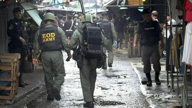 Namun baru pada 2004, kekerasan meningkat dan menurun pada 2018. Pemerintah Thailand berusaha merangkul mereka dalam dialog perdamaian, tapi belum berhasil hingga kini. (AFP PHOTO / STRINGER)