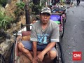 Anies Usir Pengemudi Becak dari Luar Jakarta