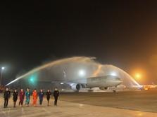 Resmi Jalin Kerjasama dengan KLM, Saham GMF Melesat 13%