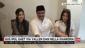 VIDEO: Via Vallen dan Nella Kharisma Digaet Gus Ipul