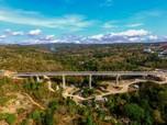 Foto Udara Keindahan Infrastruktur Jembatan Terpanjang di NTT