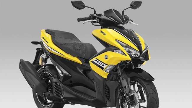 Masuk 2018 Yamaha Aerox R Version Ganti Warna