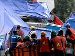 Melihat Kondisi Terkini Proyek LRT Rubuh di Kayu Putih