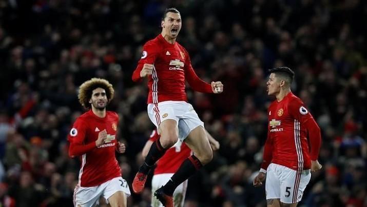 Manchester United meraih laba 39,18 juta poundsterling (Rp 724,77 miliar) di 2017. Naik 7,71% dibandingkan pencapaian 2016.