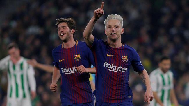 Barcelona Kalahkan Tuan Rumah Real Betis 5-0