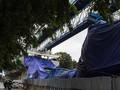 Tiang LRT Kayu Putih Roboh, Pembangunan Tak Disetop