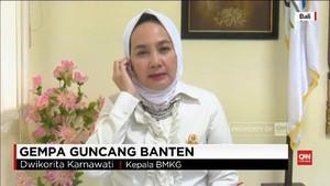 VIDEO: Tabrakan Dua Lempeng Picu Gempa Banten