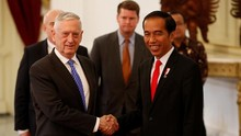 VIDEO: Jumpa Jokowi, Menhan AS Sebut Indonesia Negara Penting