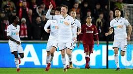 Swansea City Kalahkan Liverpool 1-0