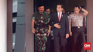 Buka Rapim TNI-Polri, Jokowi Soroti Keamanan Pemilu