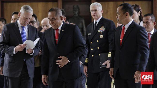 Ryamizard-Mattis Bahas LCS,  Korut,  ISIS hingga Rohingya