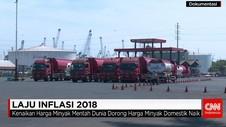 Gejolak Harga Pangan & BBM Nonsubsidi Bayangi Inflasi di 2018