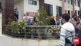 Ada Ancaman Bom, Gedung PN Serang Banten Disterilkan