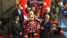 VIDEO: Minnie Menyusul Mickey Mouse ke Walk of Fame