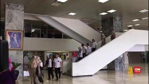 VIDEO: Gempa Guncang Jakarta, Wakil Ketua MPR Kira Stroke