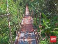 Jembatan Indiana Jones, Setapak Pertaruhan Para Penimba Ilmu