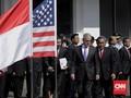 Temui Ryamizard, Menhan AS Disambut Upacara Jajar Kehormatan