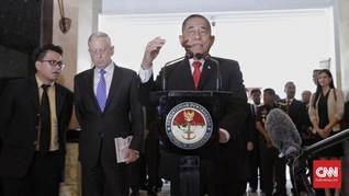 Menhan Akan Bahas Tahun Politik dengan TNI dan Polri