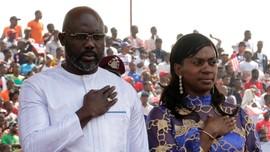 Dilantik Jadi Presiden Liberia, Weah Janji Perangi Korupsi