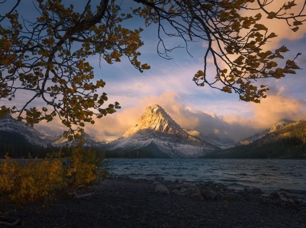 Finalis - Matt Meisenheimer. Nikon D810 - 18mm, f/8/ 1/500s dan ISO 100. Foto: Outdoor Photographer