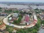 Pembangunan Jembatan untuk Asian Games Palembang Capai 70,82%
