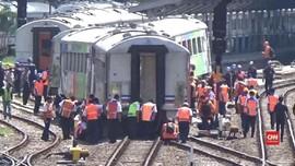VIDEO: KA Parahyangan Anjlok, Jadwal Kereta Tak Terhambat