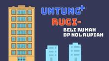 Untung-Rugi Beli Rumah DP Nol Rupiah ala Anies-Sandi