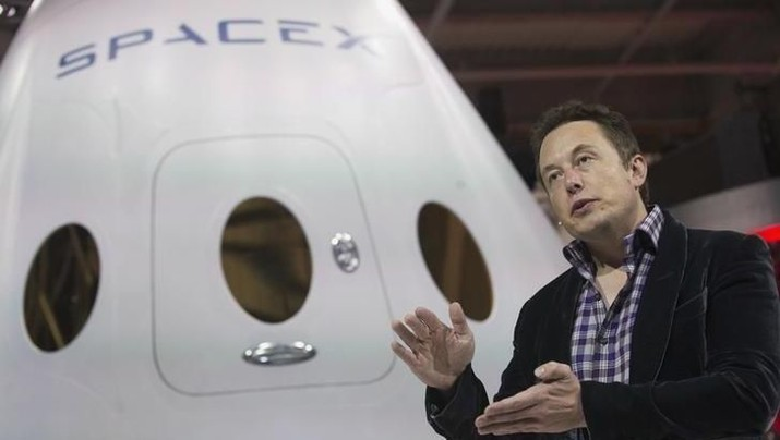 Efisensi, Elon Musk akan PHK 600 Karyawan SpaceX