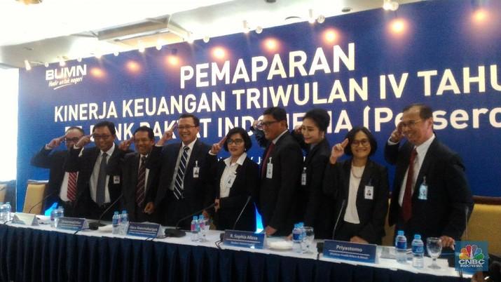 BRI Cetak Laba Bersih Rp 29,04 Triliun, Naik 10,7% di 2017