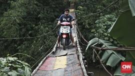 Pembangunan Jembatan 'Indiana Jones' Gunakan CSR Swasta