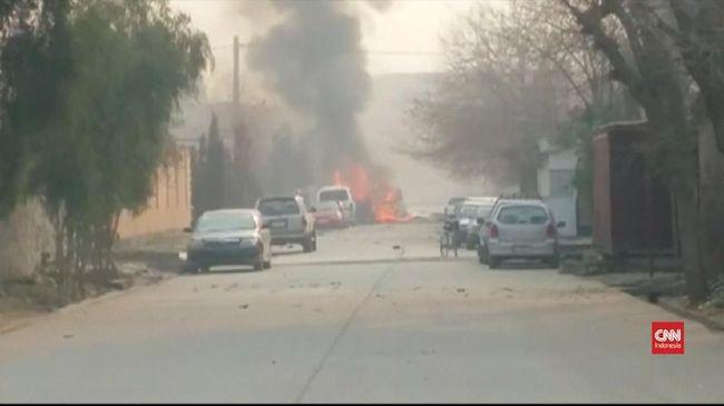 Serangan Bom Mobil Tewaskan Delapan Pasukan Afghanistan