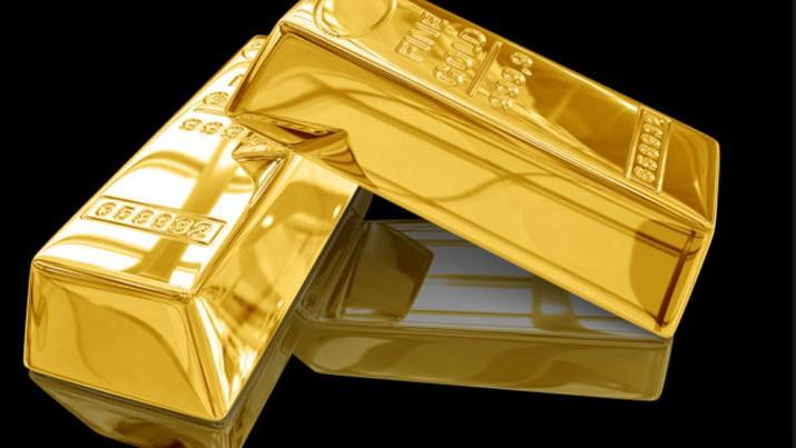 Ahay! Harga Emas Dunia <i>Ngevoor</i>  Rp 642.564/gram