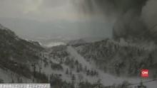 VIDEO: Letusan Gunung di Jepang Tewaskan Pemain Ski
