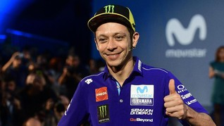 Rossi Masih Terlalu Muda untuk Pensiun dari MotoGP