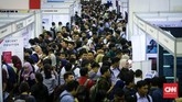 Pengangguran yang makin banyak juga dilatarbelakang oleh tingkat pendidikan di Indonesia yang masih belum berkualitas. (CNN Indonesia/Safir Makki)