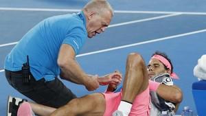 Rafael Nadal Kesal Gagal di Australia Terbuka karena Cedera