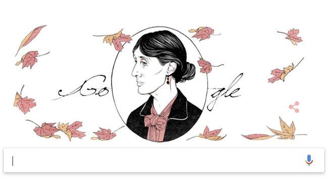 Google Peringati Kelahiran Novelis Kenamaan Virginia Woolf
