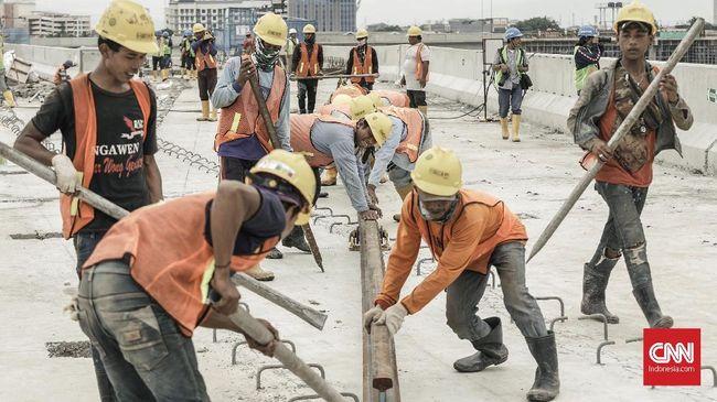 Pemerintah Belum Sanksi Kontraktor Proyek Ambruk
