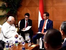 Dorong Free Trade, Jokowi Bertemu Pimpinan Parlemen Sri Lanka