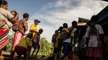 Bantah Ada Pengungsi Tewas, Kemensos Kirim Bantuan ke Nduga